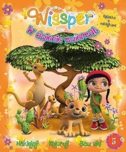 Wissper W świecie zwierząt 5 Naklejaj! Koloruj! Baw się!