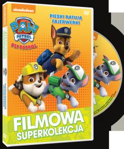 Filmowa Superkolekcja Psi Patrol Pieski ratują fajerwerki DVD