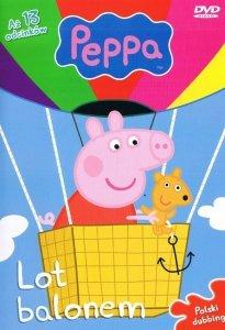 Świnka Peppa magazyn Wydanie specjalne z DVD Lot balonem (2/2014)