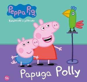 Świnka Peppa Książeczki z półeczki 56 Papuga Polly