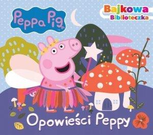 Świnka Peppa Bajkowa biblioteczka Opowieści Peppy