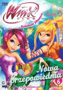 Winx Club Kolekcja filmowa seria 5 cz.6 Nowa przepowiednia (DVD)