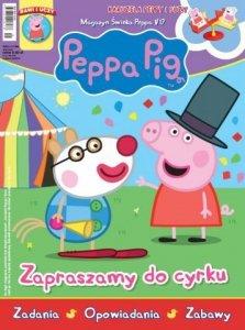 Świnka Peppa magazyn 1/2017 Zapraszamy do cyrku + karuzela Peppy i Suzy