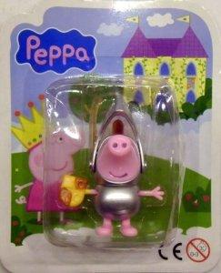 Świnka Peppa figurka kolekcjonerska GEORGE RYCERZ