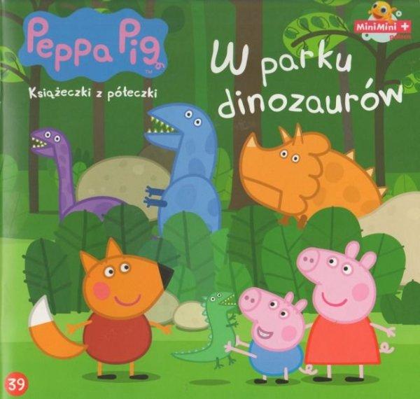 Świnka Peppa Książeczki z półeczki 39 W parku dinozaurów