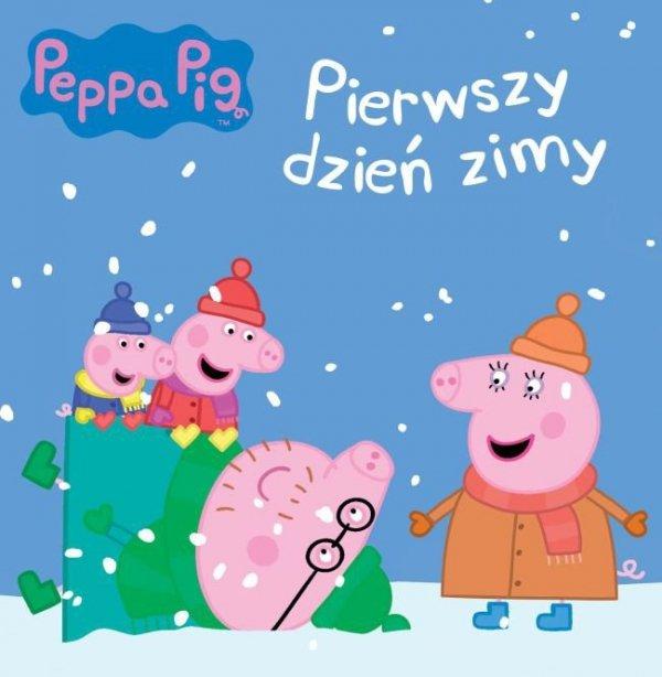 Świnka Peppa Pierwszy dzień zimy (w twardej oprawie)