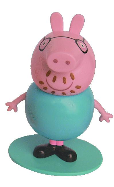 Świnka Peppa magazyn Wydanie specjalne 1/2017 z figurką taty Peppy