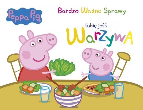Świnka Peppa Bardzo Ważne Sprawy 5 Lubię jeść warzywa