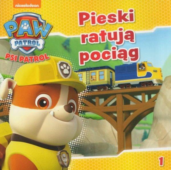 Psi Patrol zestaw Pieski ratują pociąg + Ekipa na 102! cz.7 + pojazd ratunkowy