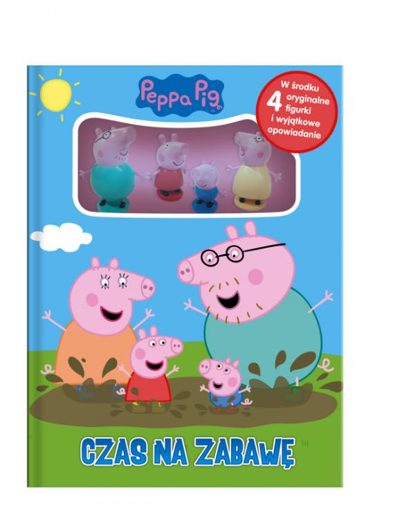 Świnka Peppa Czas na zabawę + 4 figurki