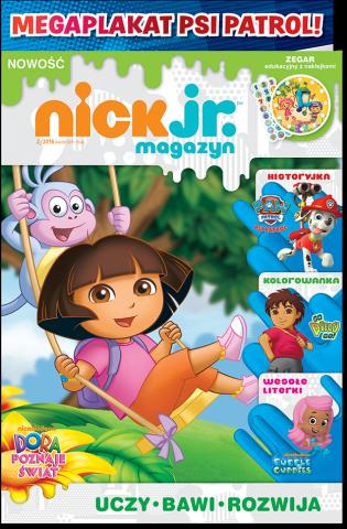 Nick Jr. magazyn 2/2016 + MEGAPLAKAT Psi Patrol