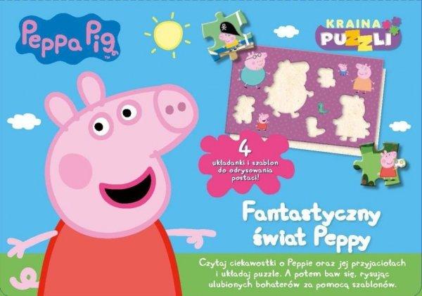 Świnka Peppa Kraina puzzli
