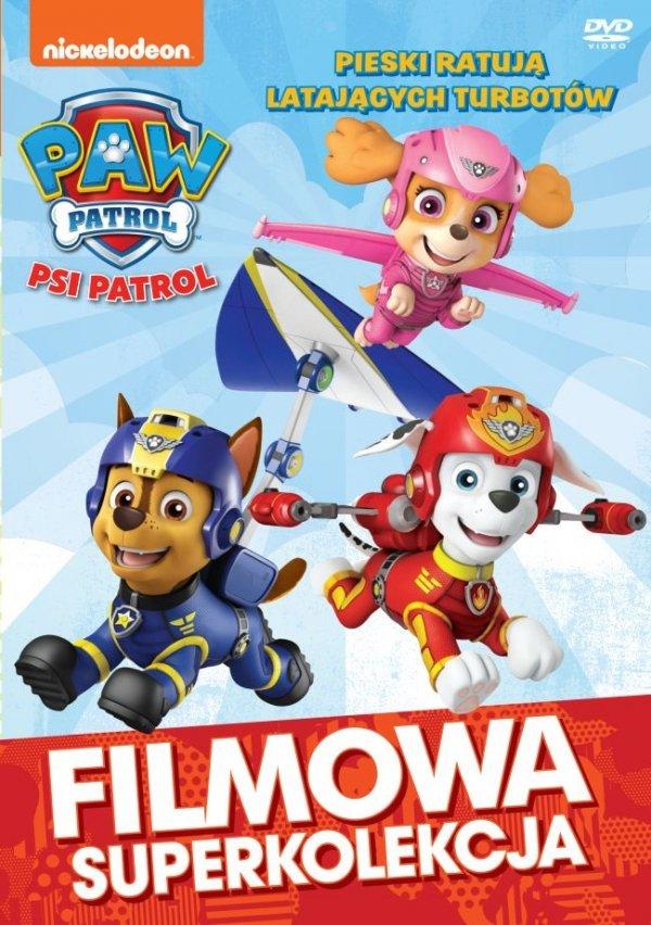 Psi Patrol DVD Pieski ratują latających Turbotów