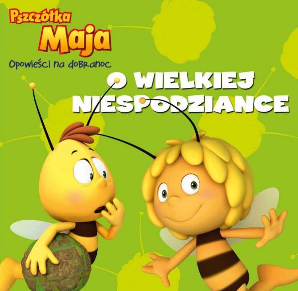 Pszczółka Maja Opowieści Na Dobranoc 1 O wielkiej niespodziance