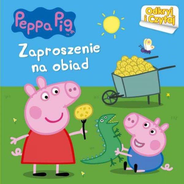 Świnka Peppa Odkryj i Czytaj Zaproszenie na obiad