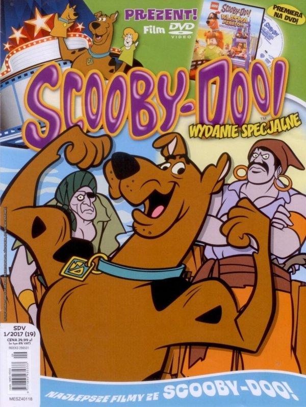 Scooby-Doo! Wydanie specjalne 1/2017 DVD Lego Scooby-Doo! Klątwa piratów