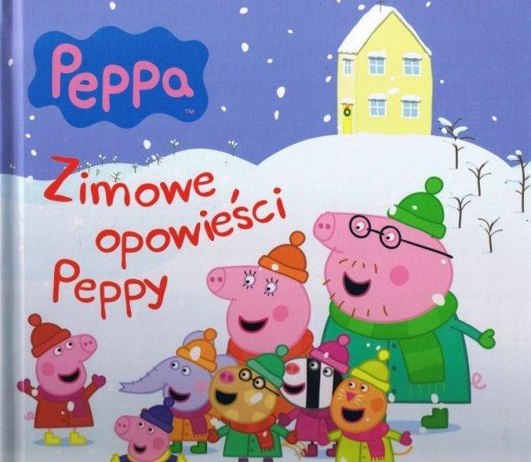 Świnka Peppa Zimowe opowieści Peppy (w twardej oprawie)