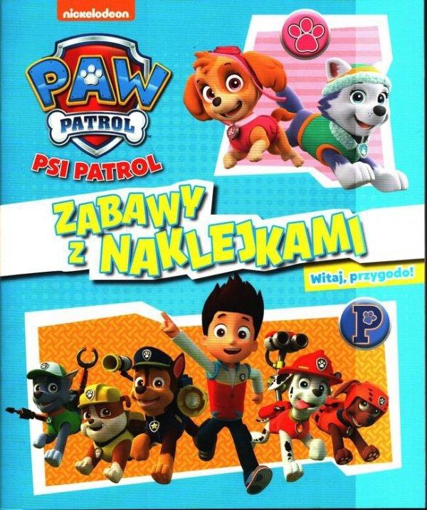 Psi Patrol Zabawy z naklejkami 2 Witaj, przygodo!