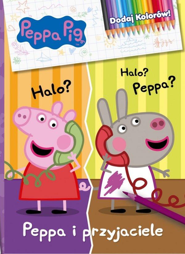 Świnka Peppa Dodaj Kolorów! Peppa i przyjaciele