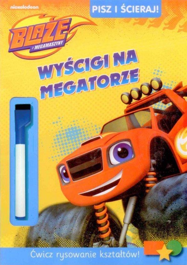 Blaze i megamaszyny Zestaw 2 książęk Pisz i ścieraj! 1 Wyścigi na megatorze