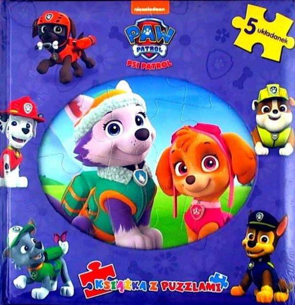 Psi Patrol Książka z puzzlami