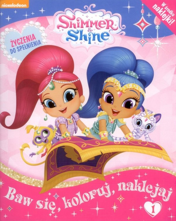 Shimmer i Shine Życzenia do spełnienia 1