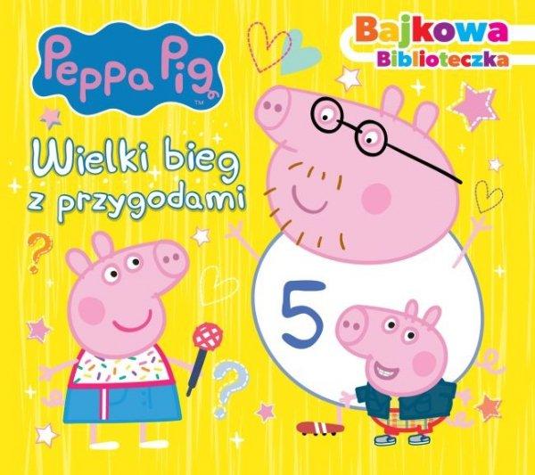 Świnka Peppa Bajkowa biblioteczka 2 Wielki bieg z przygodami
