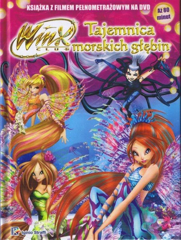 Winx Club Książka z płytą DVD Tajemnica morskich głębin