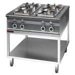 Kuchnia gazowa  800x700x850 mm