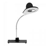 Lampa z lupą - 5 / 10-krotne powiększenie - czarna STAMOS 10020142 S-LP-3S