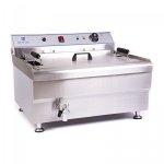 Smażalnik - 33 l - 400 V - kosz ROYAL CATERING 10010124 RCBG30-1-B-STH