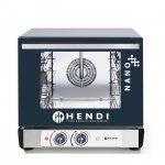 Piec konwekcyjny z nawilżaniem HENDI NANO – 4x 450x340 mm - elektryczny, sterowanie manualne HENDI 223352 223352