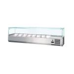 Nadstawka chłodnicza z szybą prostą ( GN 1/4 x8) COOKPRO 070030004 070030004