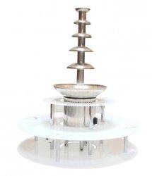 Podświetlany trzypoziomowy podest do fontann czekoladowych COOKPRO 120060002 120060002