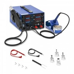 Stacja lutownicza - 3 w 1 - USB STAMOS 10020144 S-LS-22 BASIC