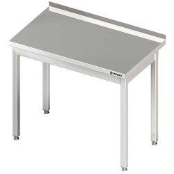 Stół przyścienny bez półki 800x600x850 mm skręcany STALGAST 611086 611086