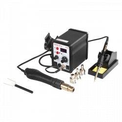 Stacja lutownicza - 60 W - 2 x kolba - LED - Basic STAMOS 10021015 S-LS-4 Basic