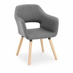 Krzesło tapicerowane - szare FROMM & STARCK 10260163 STAR_CON_104