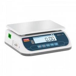 Waga sklepowa - 6 kg / 2 g - 21 x 28 cm - legalizacja TEM 10200016 TSRP+LCD06T-B1