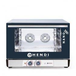 Piec piekarniczy konwekcyjny z nawilżaniem HENDI NANO – 4x 600x400 mm -elektryczny, sterowanie manualne HENDI 223338 223338