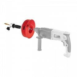Przepychacz do rur - ręczny - elektryczny - 7,5 m MSW 10060352 MSW-DRAIN CLEAN 7.6