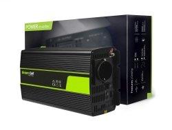 Przetwornica Green Cell® 24V na 230V Modyfikowana sinusoida 1000W GREEN CELL INV23