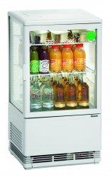 Witryna chłodnicza Mini 58L, biała BARTSCHER 700258G 700258G