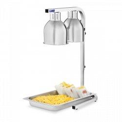 Lampa grzewcza do potraw - podwójna - 2 x 275W ROYAL CATERING 10010329 RCWB-550I