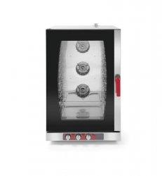 Piec konwekcyjno parowy 10 GN1/1 lub 10 x 600x400 elektryczny sterowanie manualne REVOLUTION 227749 227749