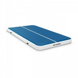 Nadmuchiwana mata gimnastyczna - 300 x 200 x 20 cm - niebiesko-biała GYMREX 10230112 GR-ATM8