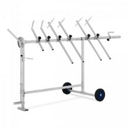 Stojak lakierniczy - obrotowy - 90 kg MSW 10060909 MSW-RPS-4H