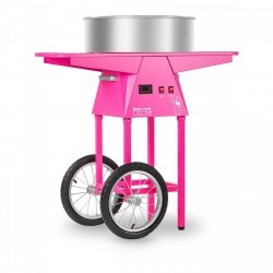 Maszyna do waty cukrowej - 52 cm - LED - wózek ROYAL CATERING 10010547 RCZC-1030-W