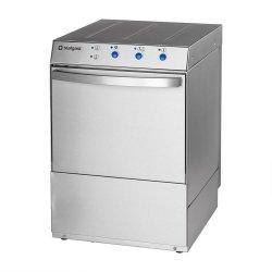 Zmywarko wyparzarka uniwersalna 400/230V z dozownikiem płynu myjącego i pompą wspomagającą płukanie STALGAST 801516 801516