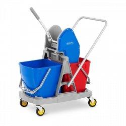 Wózek do sprzątania - 2 x 20 l Ulsonix 10050253 UNICLEAN 11